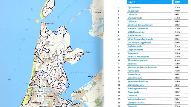 Holland Cycling Routes